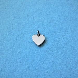 "JAMES AVERY ~ ""HEART"" Silver Charm!"